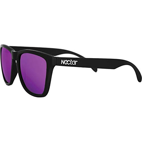 Nectar Polarized Epic Black / Purple Sunglasses