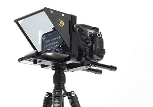 Glide Gear 3 in 1 TMP 75 Laptop Smartphone Prompt DSLR Video Teleprompter