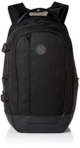 Hurley Men's Wayfarer Delux Laptop Backpack, black, QTY