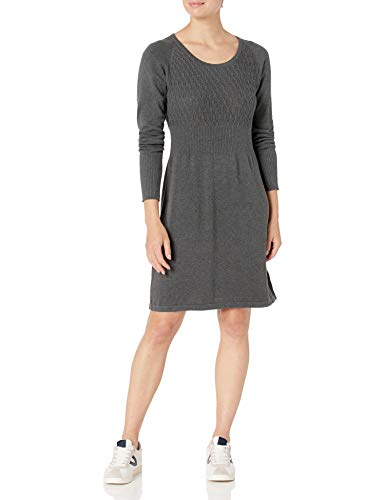prAna Women's Zora Dress, Medium, Charcoal
