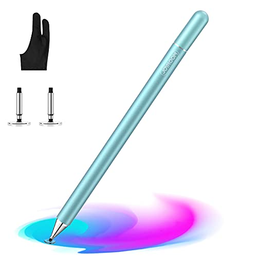 Stylus Pen for iPad, with Palm Rejection Glove, 2021 Updated Capacitive Touch Screen Pen for Kid Student Drawing, Writing, for/Phone/Samsung/iPad/Android/Surface (Green)