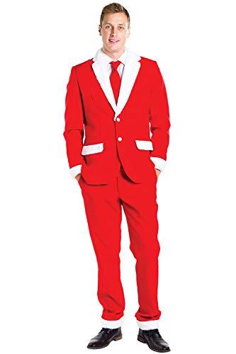 Tipsy Elves Santa Suit Pants: 38