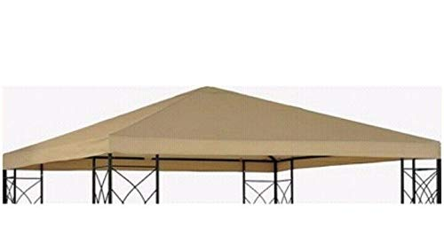 Sunjoy Group Tivoli Replacement Gazebo Canopy - Beige - Room Essentials