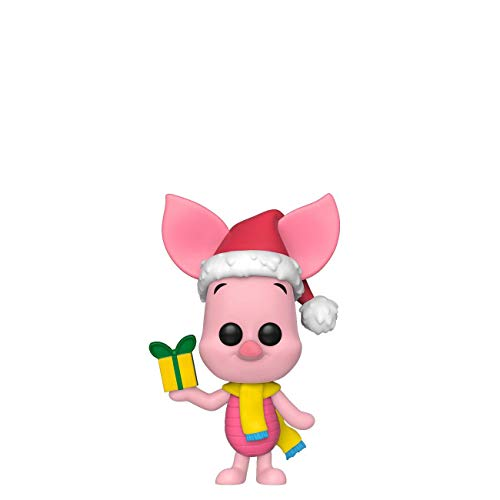 Funko 43330 POP. Vinyl Disney: Holiday-Piglet Collectible Figure, Multicolor