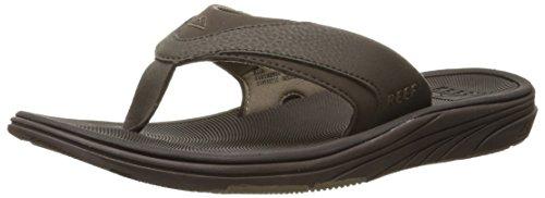 Reef Men's Sandals Modern | Arch Support Flip Flops for Men, Brown, 11