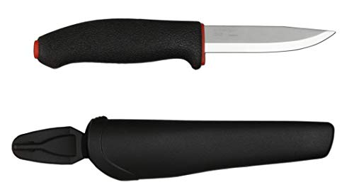 Morakniv Allround Multi-Purpose Fixed Blade Knife with Carbon Steel Blade, 4.0-Inch
