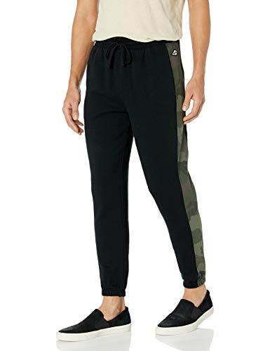 Billabong Men's Wave Washed Pant, Black/Camouflage, X-Large
