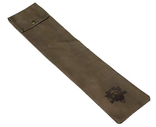 Bushcraft Bucksaw Bag, Canoe Saw Sleeve, Waxed Canvas, 24' Saw Bag
