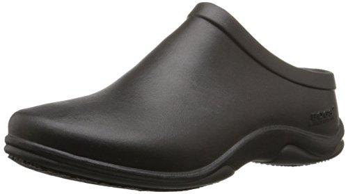 Bogs Women's Stewart Slip Resistant Work Shoe, Black, 8 M US