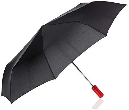 Hunter Boots Men's Original Auto Compact Umbrella, Black, One Size