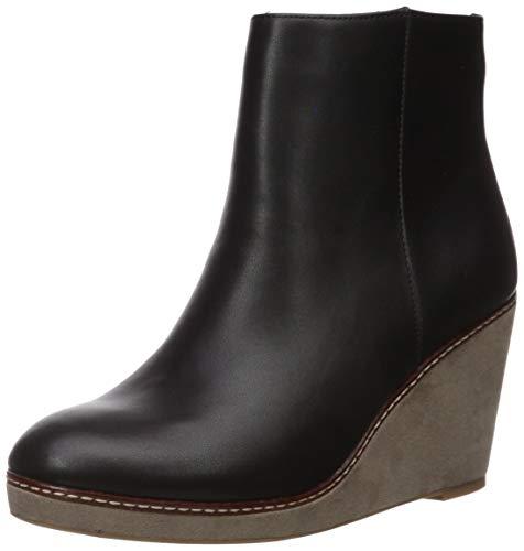 kensie Women's Hatley Fashion Boot, Black, 7.5 M US