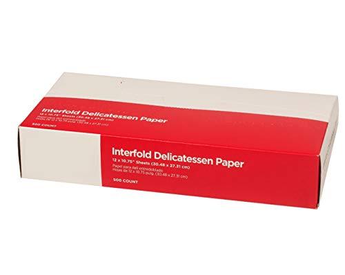 Gordon choice DeliWaxPaper10-500 Deli Wax Paper, 10' x 10.75' (Pack of 500)
