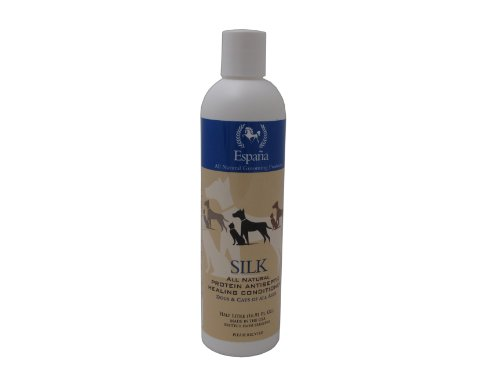 Espana Silk ESP2115DC Specially Formulated Silk Protein Antiseptic Conditioner for Dogs and Cats, 16.91-Ounce