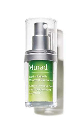 Murad Resurgence Retinol Youth Renewal Eye Serum - Retinol Eye Serum for Lines and Wrinkles - Anti-Aging Retinol Serum for Under Eye and Eyelids - Youth Serum for Smoother Skin, 0.5 Fl Oz