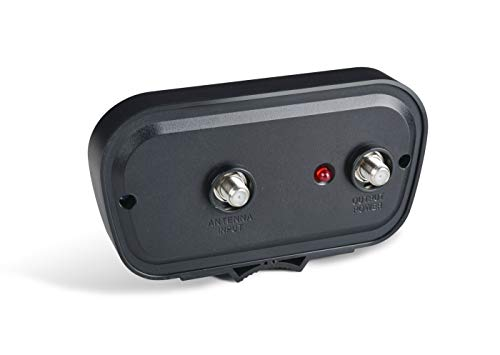 PBD HDTV Preamplifier, TV Antenna Amplifier Signal Booster, HD Digital VHF UHF Amplifier, with 4G LTE Filter
