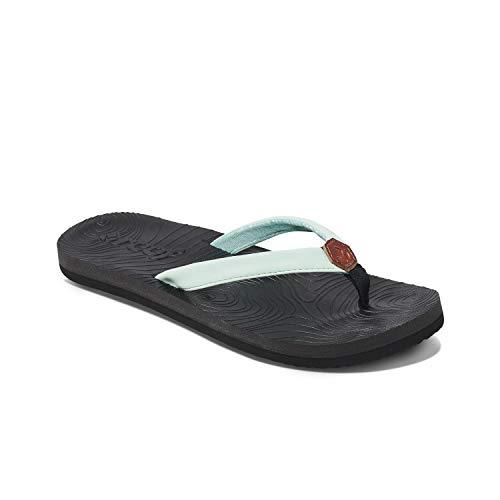 REEF Women's Zen Love Sandal, Mint, 6