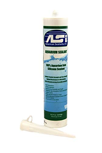 American Sealants, Inc. Vivarium Safe Silicone (10.2 oz) Black