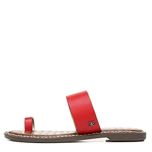 Sam Edelman womens Gorgene Slide Sandal Cherry 8.5 M