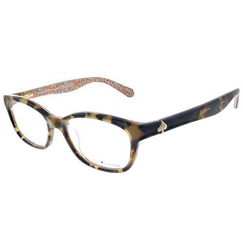 Eyeglasses Kate Spade Brylie 02NL Havana Pattern Green