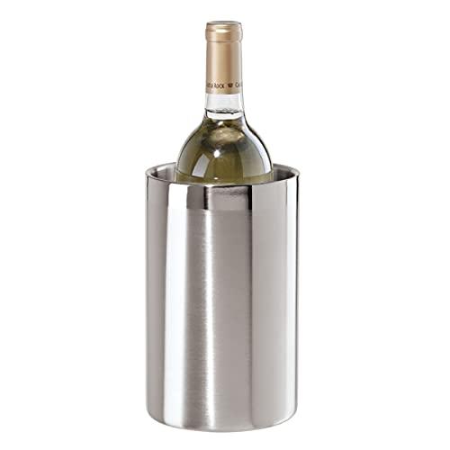 Oggi Wine Cooler, Stainless Steel