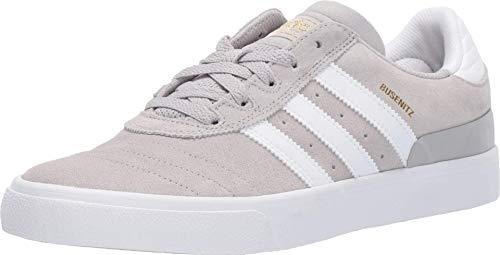 adidas Skateboarding Busenitz Vulc Grey Two F17/Footwear White/Gold Metallic 12.5 D (M)