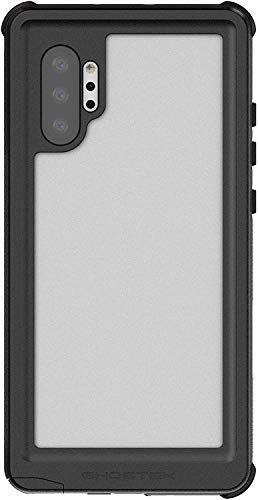 Ghostek Nautical Waterproof Note 10 Plus Case with Screen Protector Super Heavy Duty Protection Rugged Extreme Tough Full Body Underwater Watertight Seal 2019 Galaxy Note 10 Plus (6.8 Inch) - (Black)