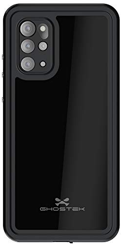 Ghostek Nautical Waterproof Case for Galaxy S20 with Built-in Screen Protector Cover Rugged Full Body Protective Heavy Duty Wireless Charging Compatible for 2020 Galaxy S20 5G (6.2 Inch) - (Black)