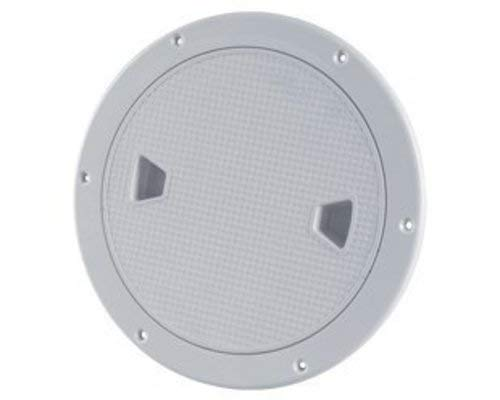 SEAFLO Marine 8' Boat Round Non Slip Inspection Hatch with Detachable Cover
