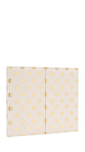 Kate Spade New York Women's Desktop Weekly Calendar & Folio, Gold Dots, One Size