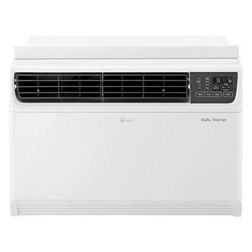 LG LW1517IVSM 14,000 BTU Dual Inverter Window Air Conditioner, 115V, Remote Control, White