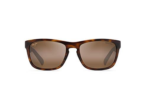 Maui Jim South Swell w/ Patented PolarizedPlus2 Lenses Polarized Classic Sunglasses, Tortoise Matte W/Man Utd/Hcl Bronze Polarized, Medium