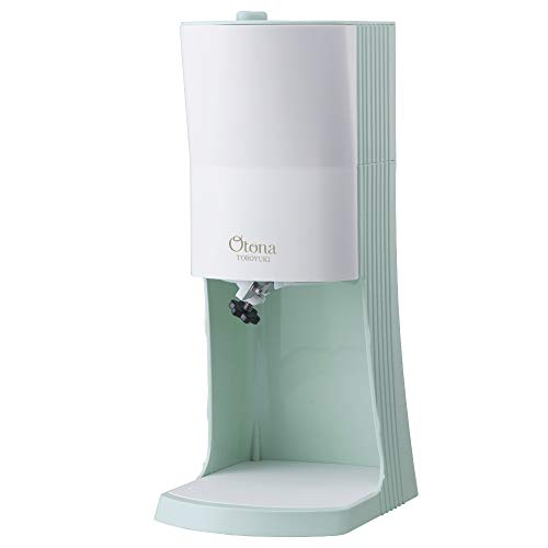 [2020 model] Doshisha electric fluffy snow-shaking device with three ice-making cups Green DTY-20GR