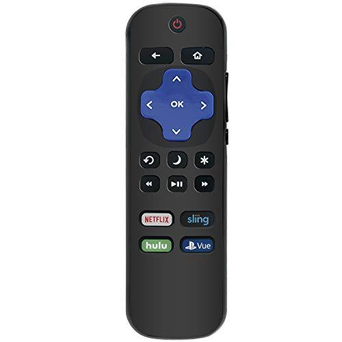 New HU-RCRUS-18 Replace Remote Control fit for Hisense Roku LED TV 4K UHD HDR HDTV 32H4D 32H4020E 32H4050E 32H4E 32H4E1 40H4C 40H4C1 40H4D 40H4E 43H4D 43H4E 43R6E 50H4D 55H4D 60R6E 65R6E 75R7E2 55R7E