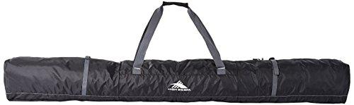 High Sierra Single Ski Bag - Small, Black/Mercury