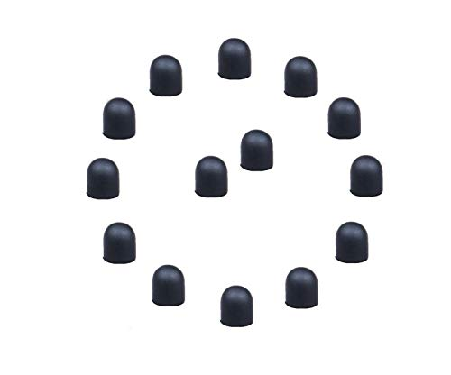 Bargains Depot 15Pcs 0.24' (Dia) Soft Replacement Rubber Tips Please Note : These Tips (Only Fit/for Bargains Depot 2-in-1 Stylus)