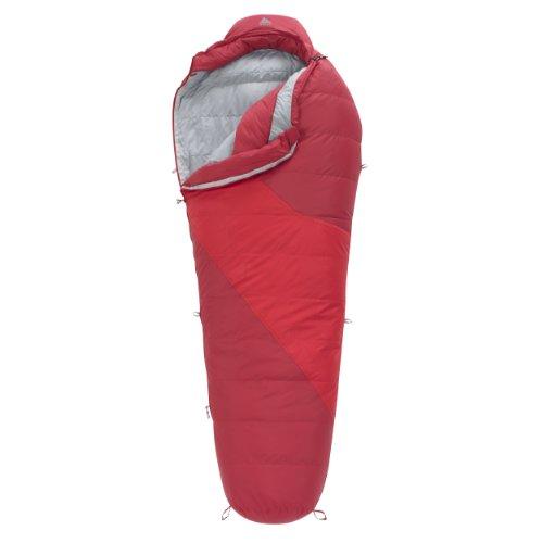 Kelty Ignite DriDown 20-Degree Sleeping Bag, Red, 6-Feet