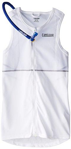Camelbak RaceBak Men's 70 oz Hydration Pack, Large, White/Graph
