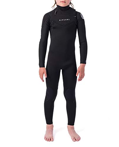 Rip Curl Dawn Patrol Wetsuit | Kid's Neoprene Full Suit Chest Zip Wetsuit for Surfing, Watersports, Swimming, Snorkeling | Designed for Durability | 3/2 mm