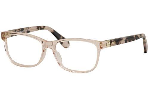 Kate Spade KS Calley HT8 Pink Havana Plastic Rectangle Eyeglasses 52mm