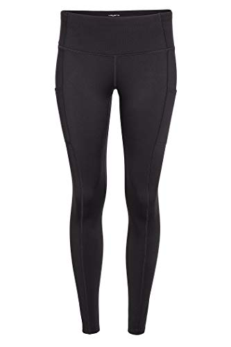 Layer 8 Women's Workout Running Yoga Capri and Legging (Small, Jet Black)