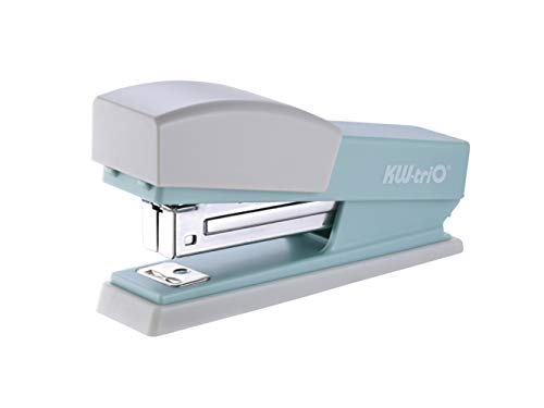KW-triO Cute Swing Stapler, 20-Sheet Capacity, with 1000 Staples (Lime Green)