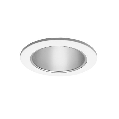 HALO 999P, 4' Trim Reflector Cone White Trim with Specular Clear Reflector