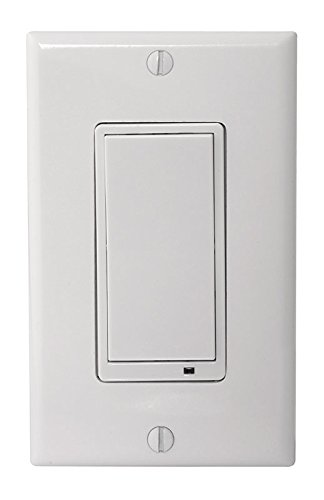 NuTone NWT00Z Smart Z-Wave Enabled 3-Way Wall Dimmer Switch, White