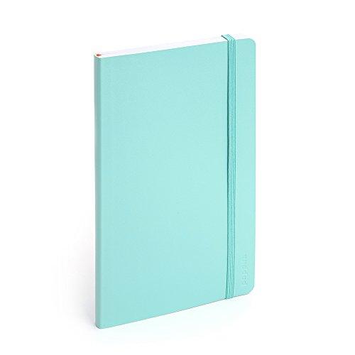 Poppin Medium Softcover Ruled Notebook (Aqua)