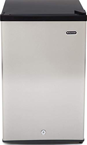 Whynter CUF-301SS Upright Freezer, 3.0 cu ft, Stainless Steel