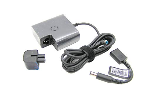 New HP Spare Part 853605-002 65W Smart slim AC Adapter Compatible with HP P/N:TPN-CA05 853605-002 854117-850 853605-001 710412-001 PPP009D ADP-65HB HC V85 N17908 R33030 753559-001 PPP009C A065R07DL