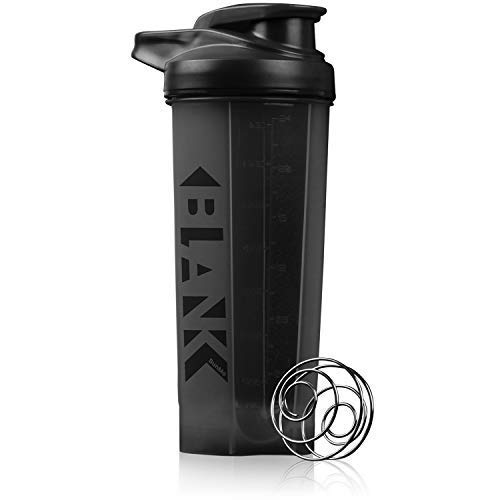 BLANK Shaker Bottles for Protein Mixes - 28oz Protein Shaker Bottle - Blank Shaker Cups for Protein Shakes