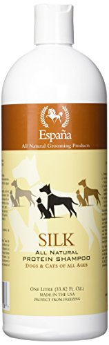 Espana Silk ESP0020DC Specially Formulated Silk Protein Shampoo for Dogs and Cats, 33.82-Ounce