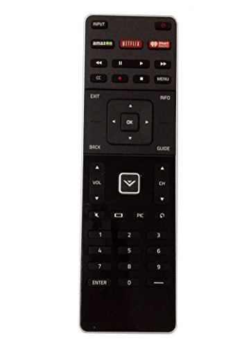 XRT500 Remote Control with backlit keyboard Compatible Vizio M322i-B1 M422i-B1 M43-C1 M49-C1 M492i-B2 M50-C1M502 i-B1 M55-C2 M552i-B2 M60-C3 M602i-B3 M65-C1 M652i-B2 M70-C3 M702i-B3 M75-C1 M80-C3
