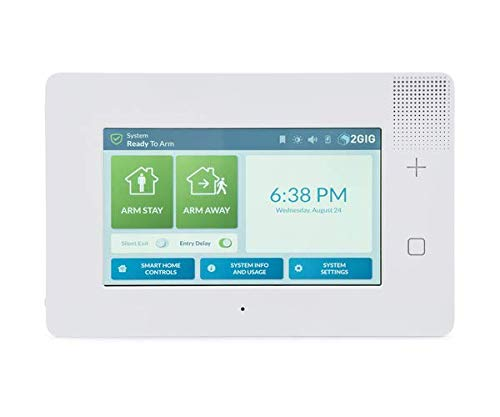 2GIG GC3e Premium Security and Control Panel, Enhanced Security, 7' Touch Screen (2GIG-GC3E-345)